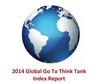 The Institute in the Global Go To Think Tank Index Report