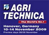 Exhibition Agritechnica 2009 in Hannover